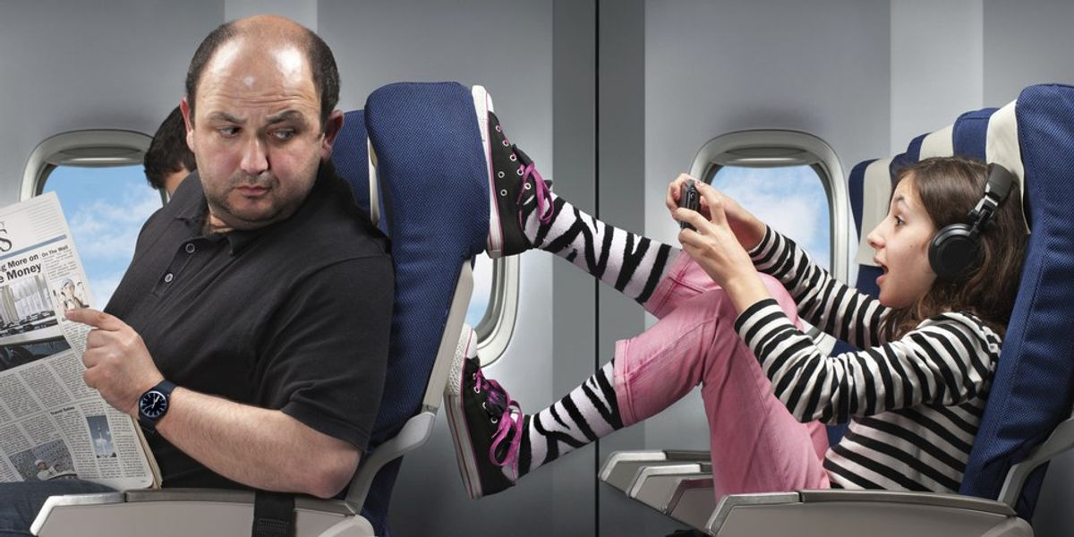 The 8 Types Of People You See On Airplanes