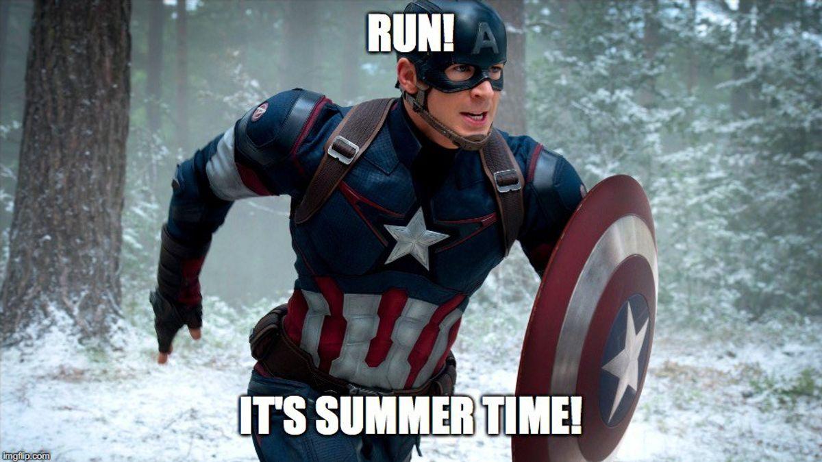 Captain America: A Summer Romance