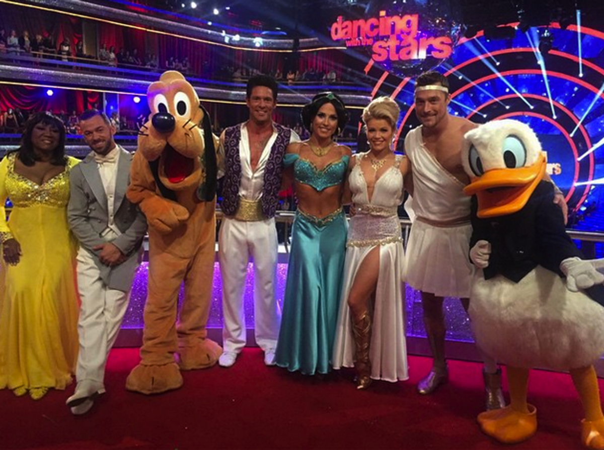 If The 'Dancing With The Stars' Cast Were Disney Characters