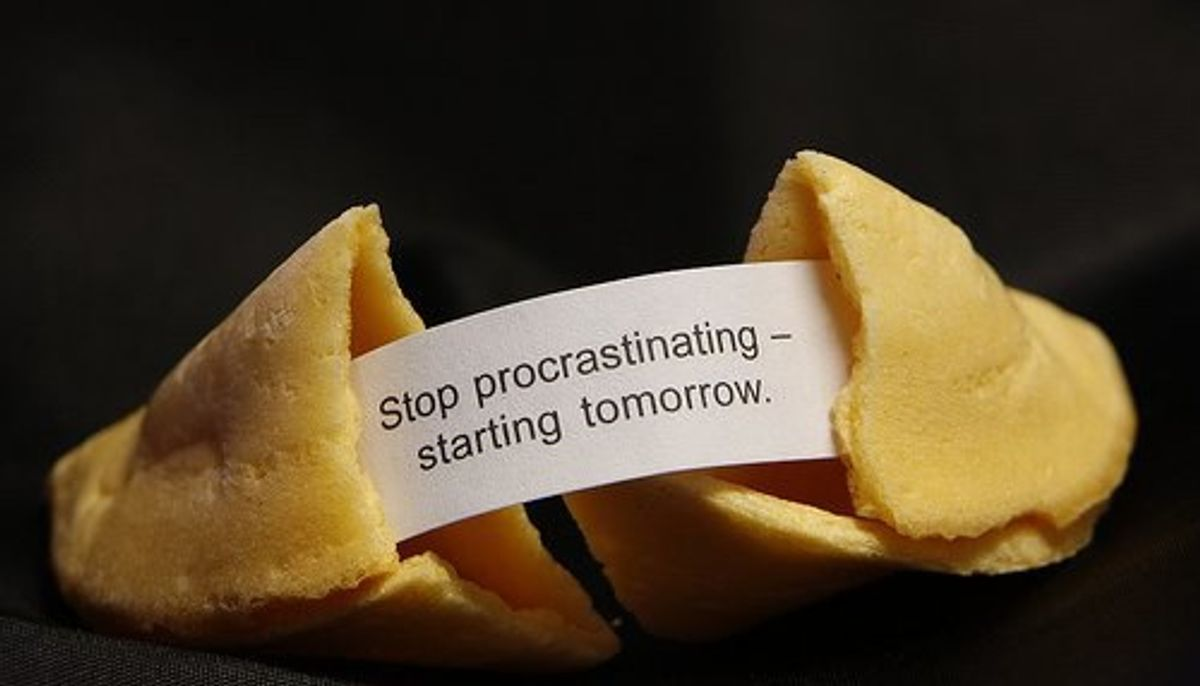 Falling For Productive Procrastination