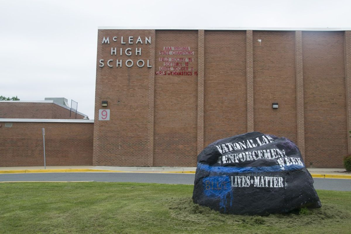 "Student Body ""Bruised"" in Black & Blue Over Controversial Message Honoring National Law Enforcement Week"