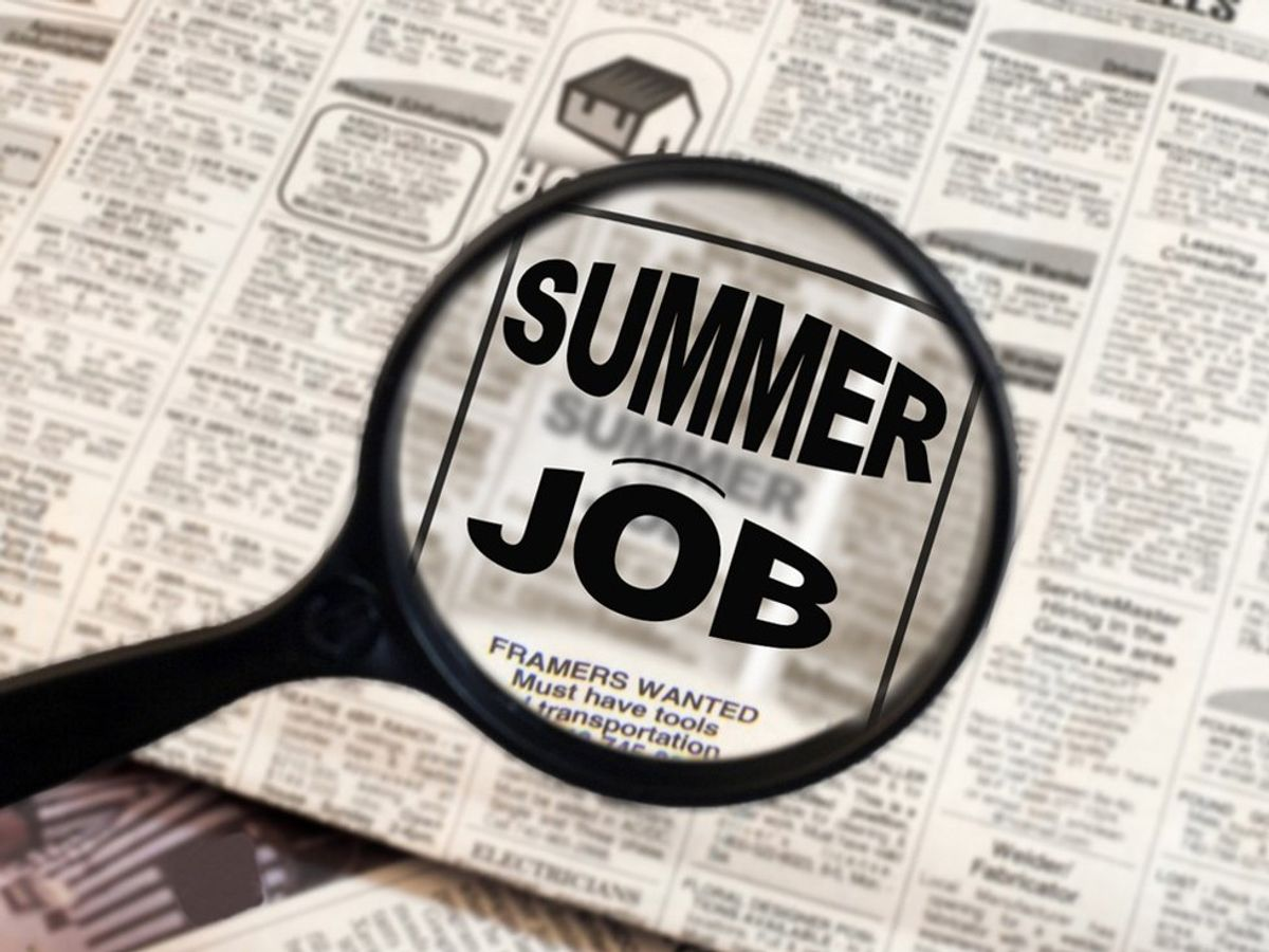 The Struggles Of Finding A Summer Job