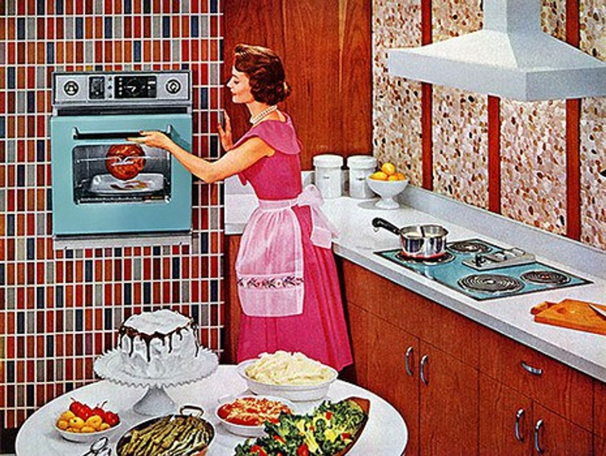 Why Women Belong In The Kitchen