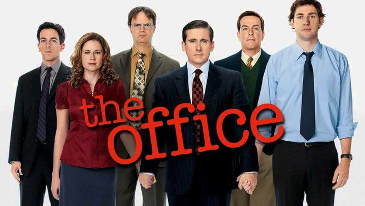 Binge Watching Cycle As Told By The Office