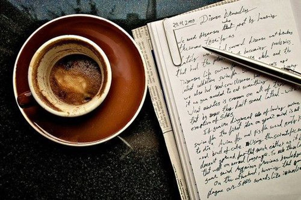 The Therapy Of Writing
