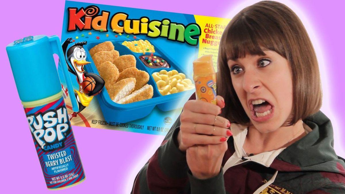 14 Snacks All '90s Kids Miss