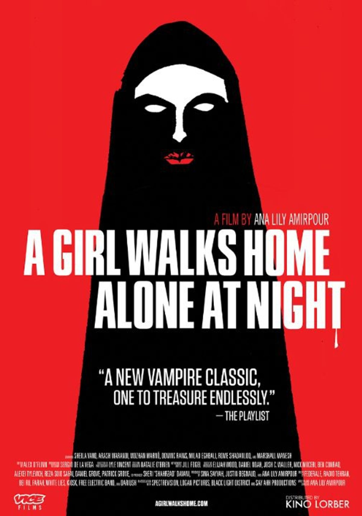Let's Talk Film! A Girl Walks Home Alone At Night (2014)