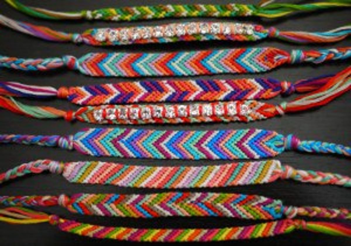 How Making Bracelets With Kids At Camp Taught Me About God