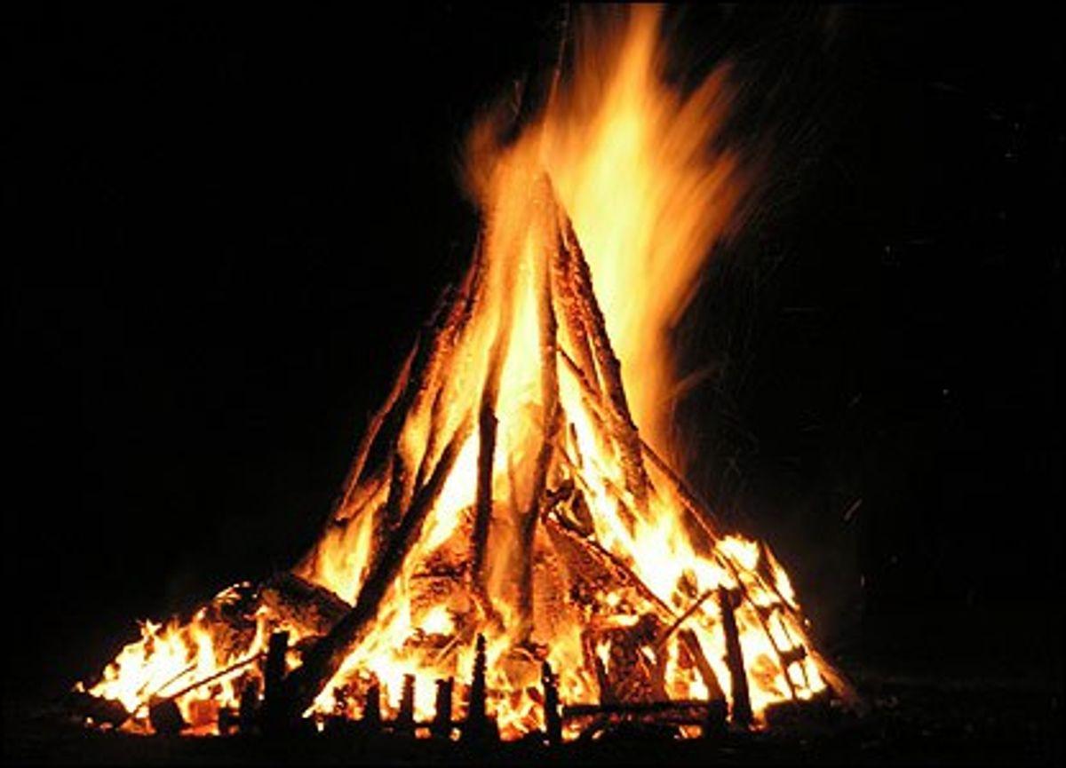 The Bonfire: Man's Ritual