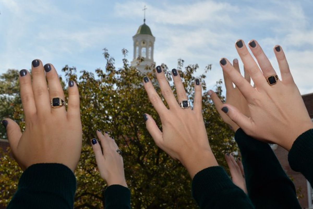Why I Still Proudly Wear My High School Ring