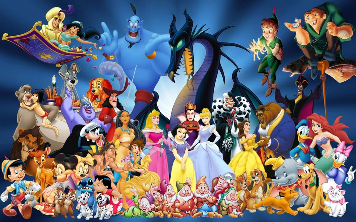 My Top Picks:  Favorite Animated Disney Characters Of All Time