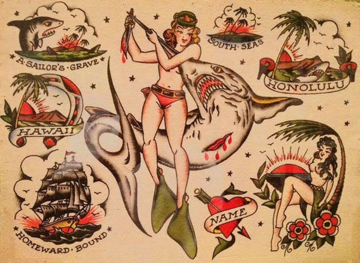 A Short History Of The American Tattoo Tradition