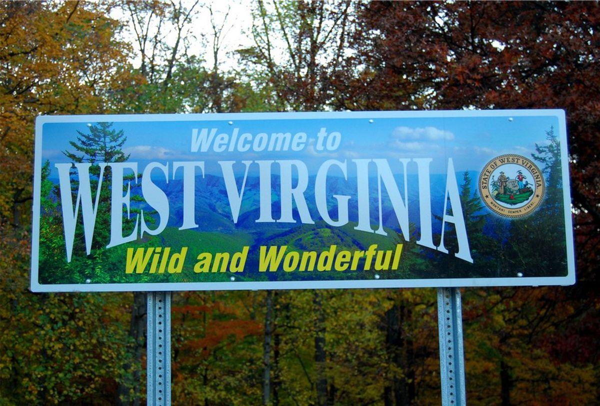 The Start Of A West Virginia Bucket List