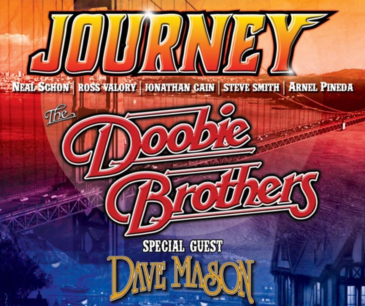 Journey, The Doobie Brothers And Dave Mason: The 2016 Tour