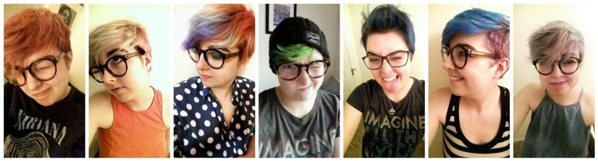 10 Reasons Why It's Awesome To Dye Your Hair Fun Colors