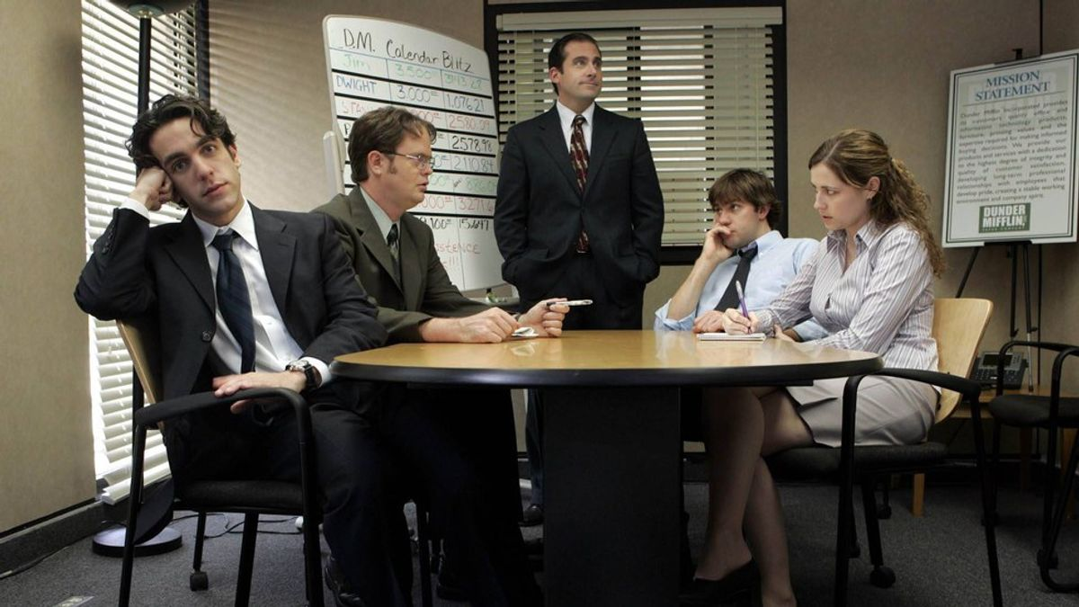"""What It's Like Being The Intern, As Told By """"The Office"""""""