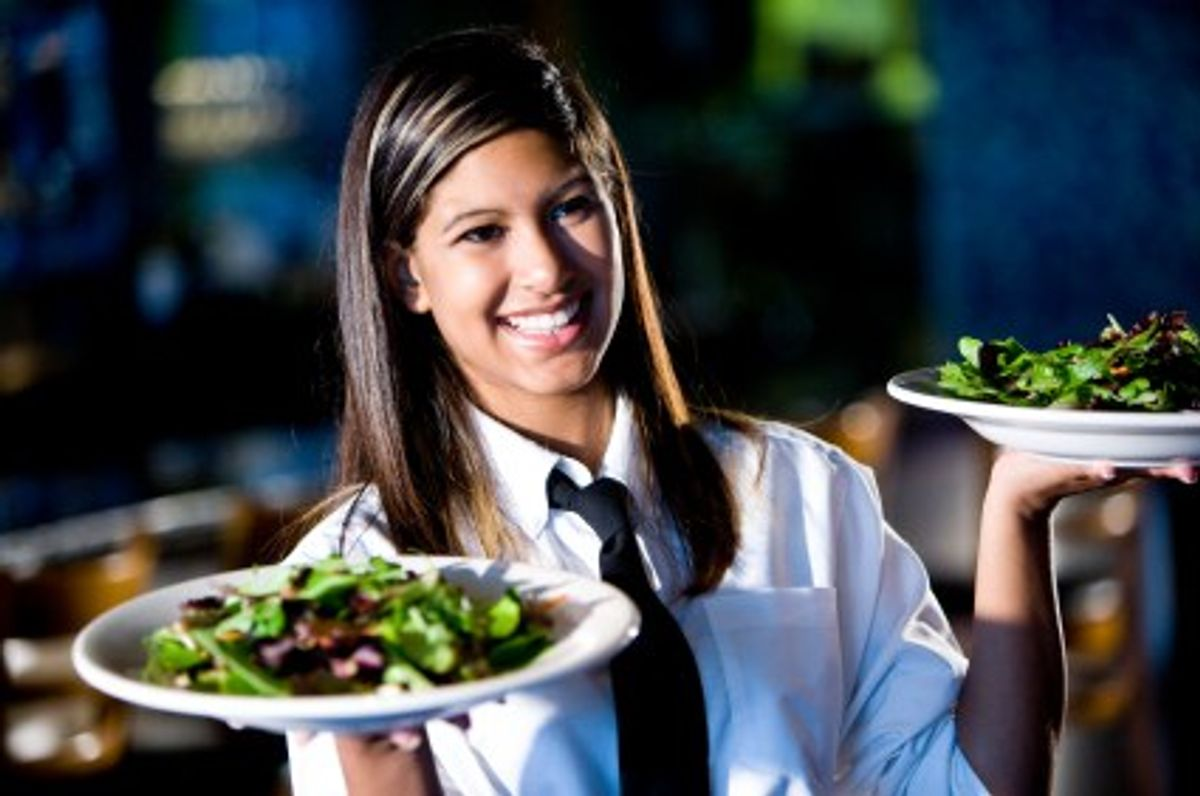 11 Thoughts Every Restaurant Server Has