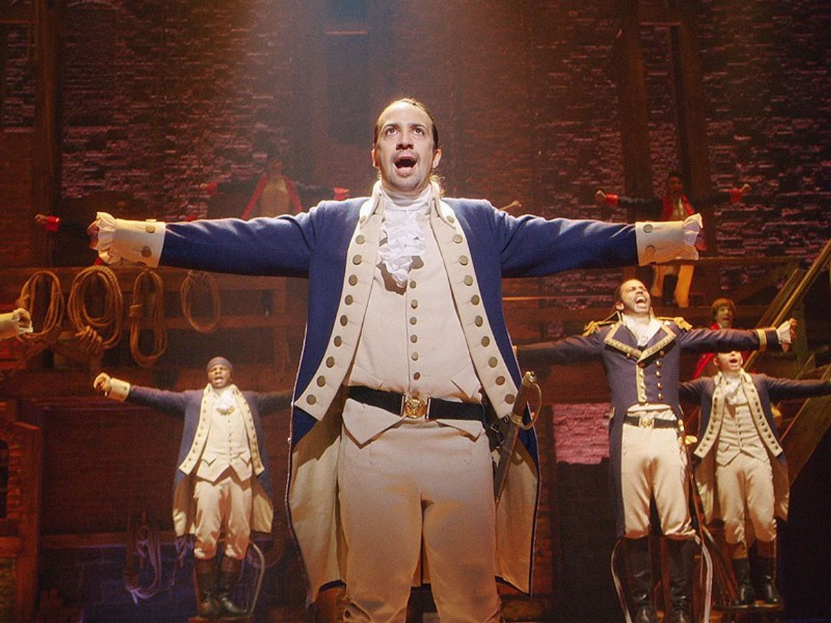 """An Inner Monologue While Listening to """"Hamilton"""""""