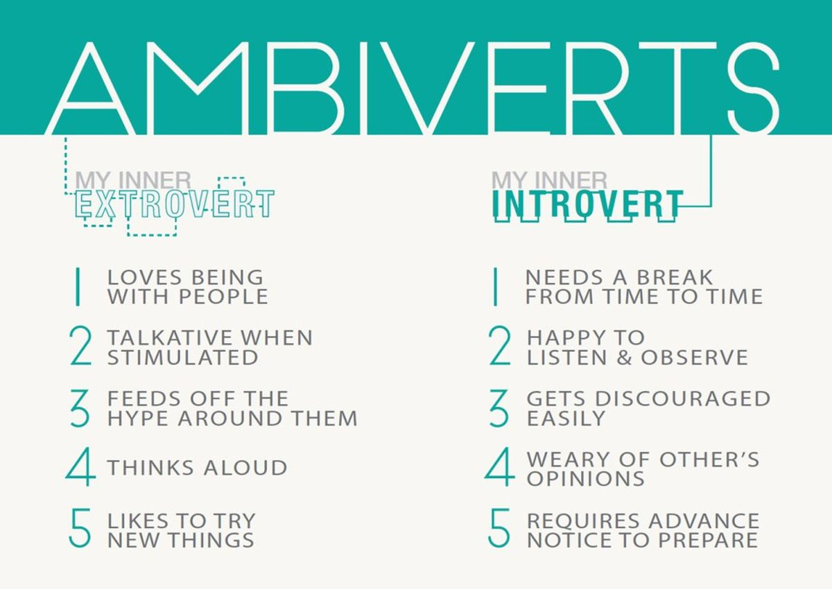 I'm an Ambivert