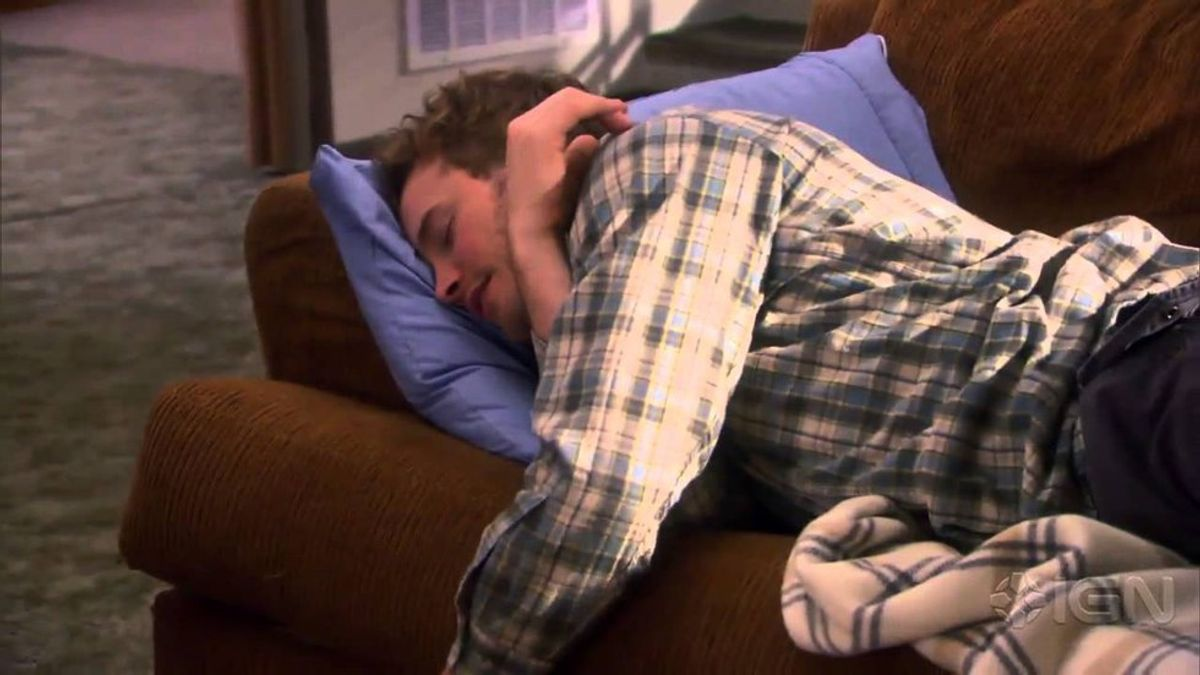 11 Signs That You're A Chronic Napper As Told By The Cast Of Parks And Recreation