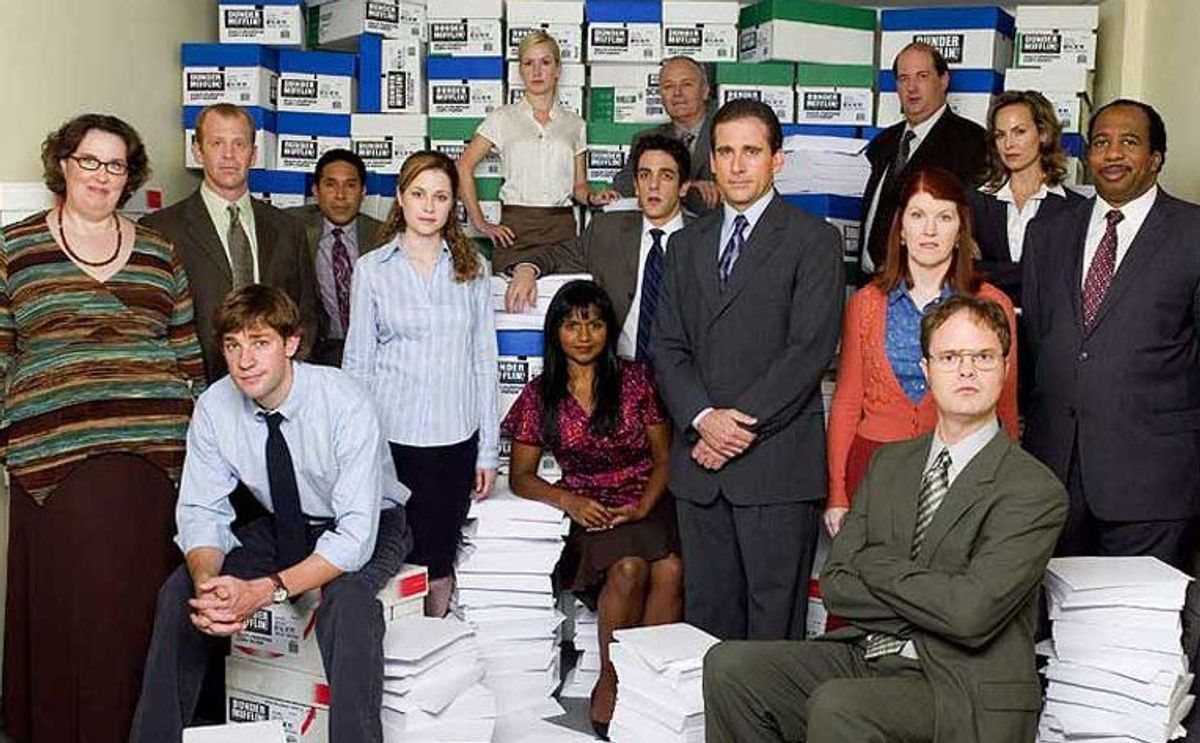 If Characters Of 'The Office' Were On Sorority Exec