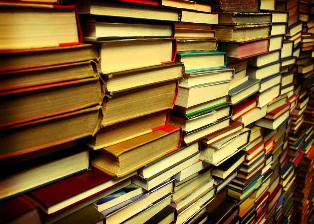 10 Things That Happen When You're On A Book Buying Ban