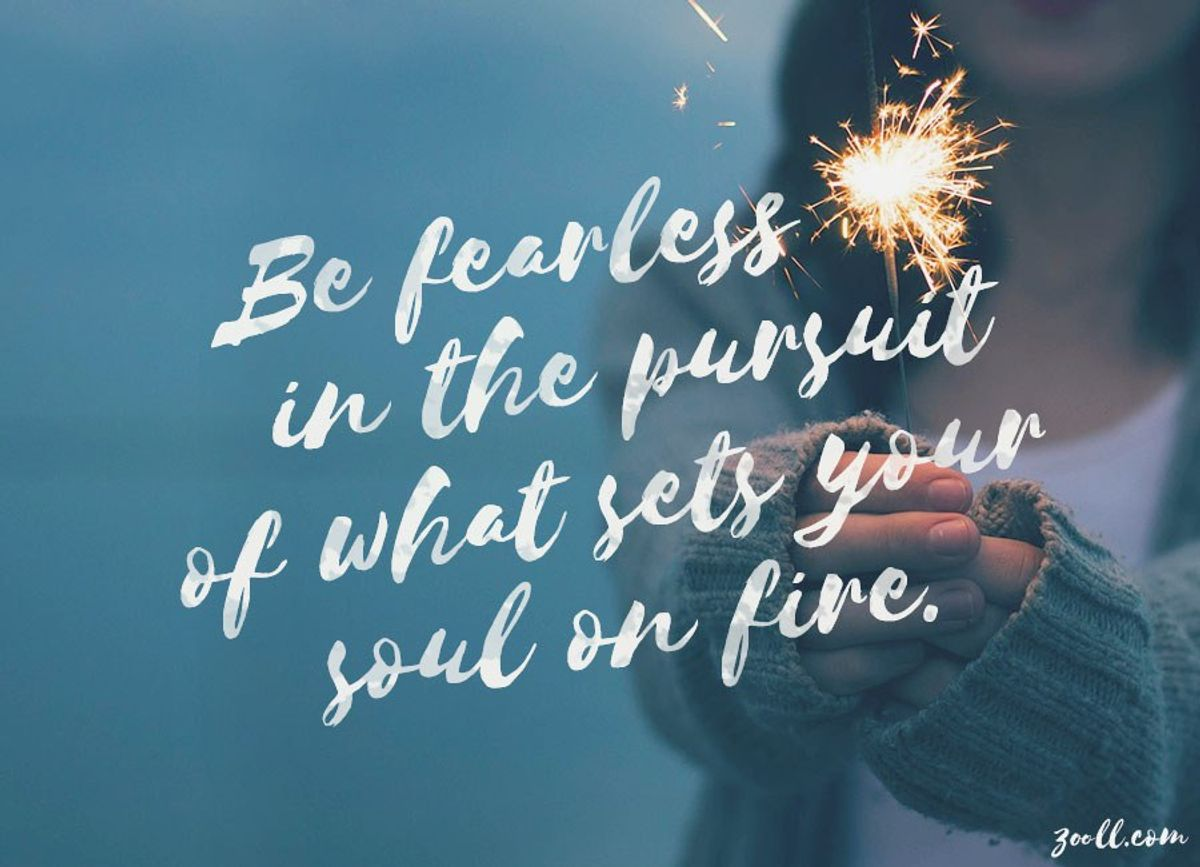 What Sets Your Soul On Fire?