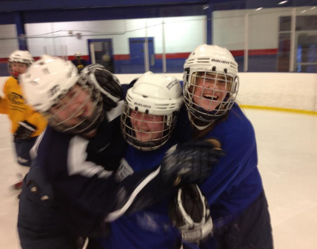 What Happens When Girls Play Ice Hockey
