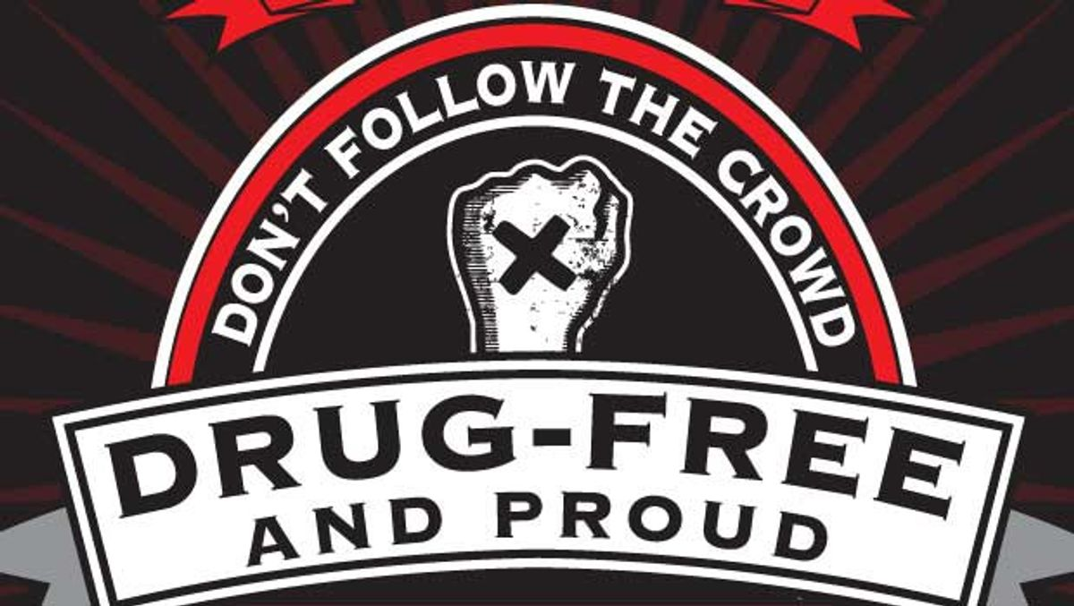 I Chose The Straight Edge Life And Couldn't Be Happier