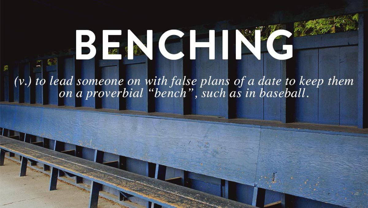 What's Wrong With 'Benching?'