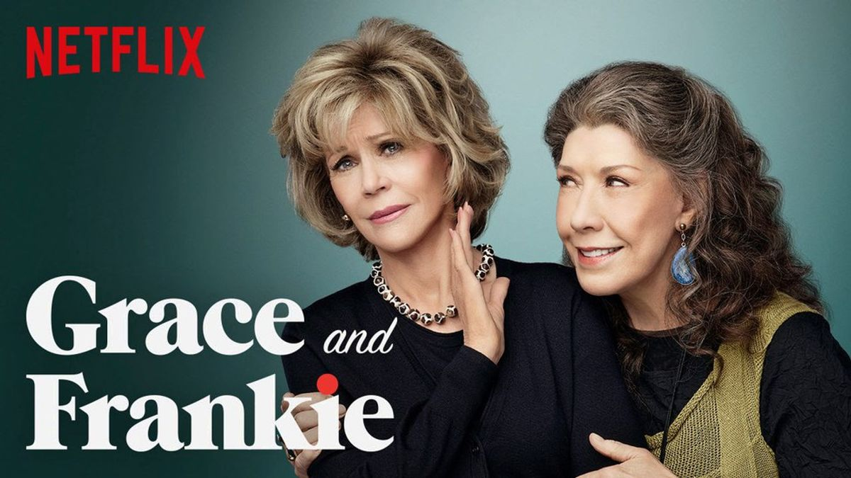 Frankie From Grace And Frankie Is Our Spirit Animal