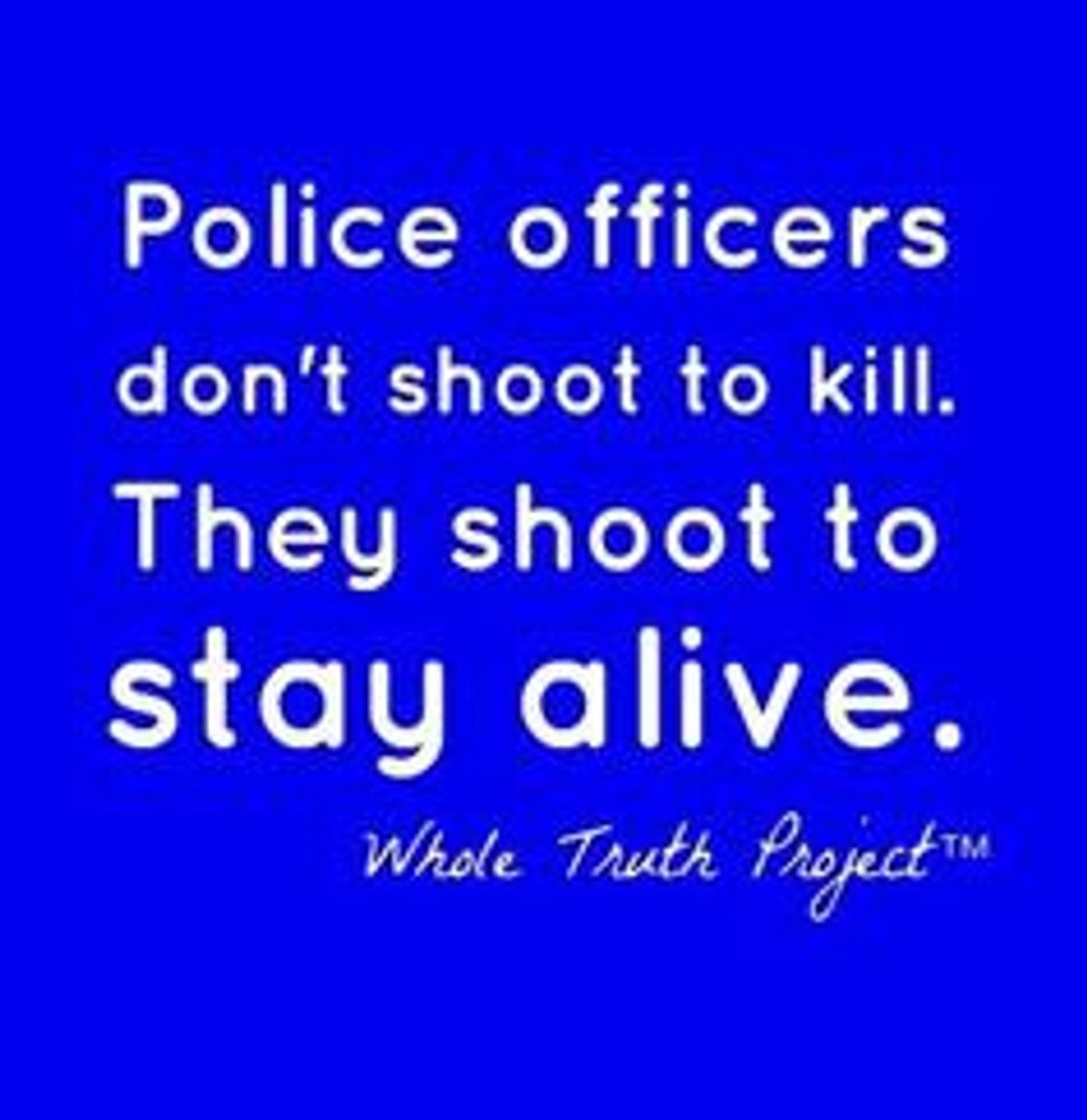 An Open Letter To Those Who Hate Cops