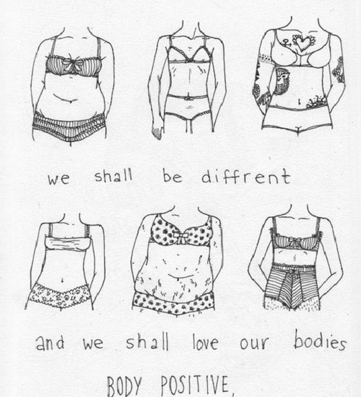 Why You Should Choose To Be Body Positive