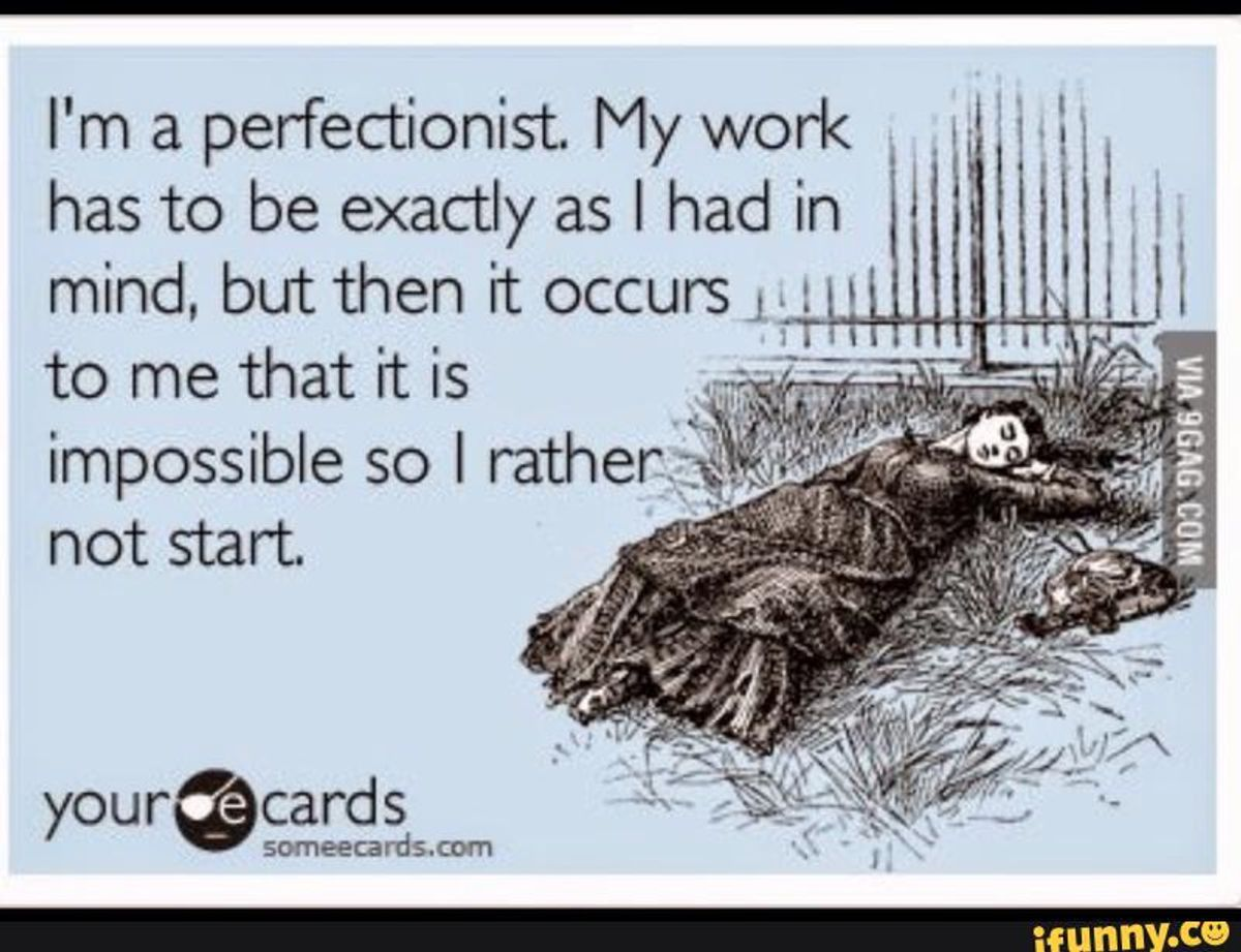 Are You A Lazy Perfectionist?