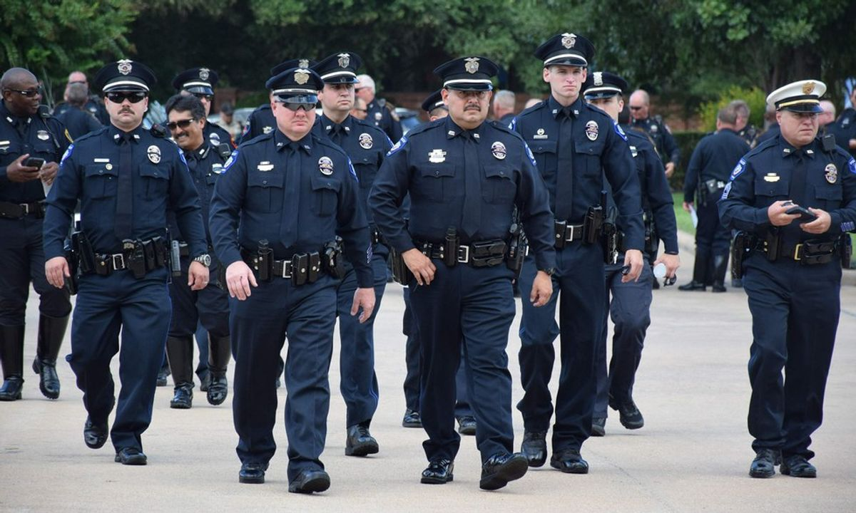 Police Should Not Be In Pride Parades