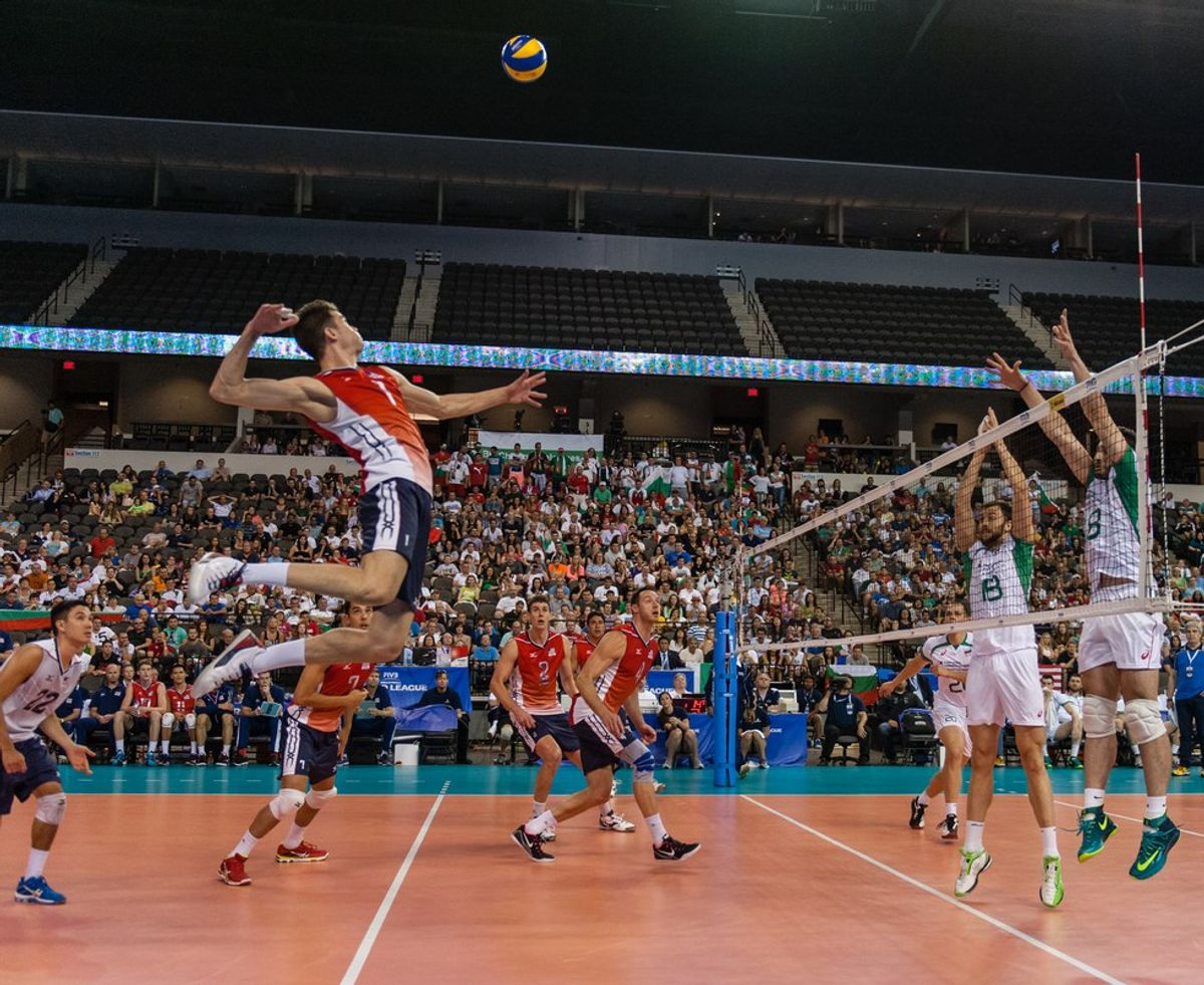 Why You Should Think About Playing Men S Volleyball