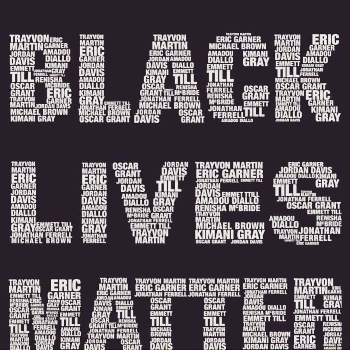 #BlackLivesMatter And #StandWithDallas