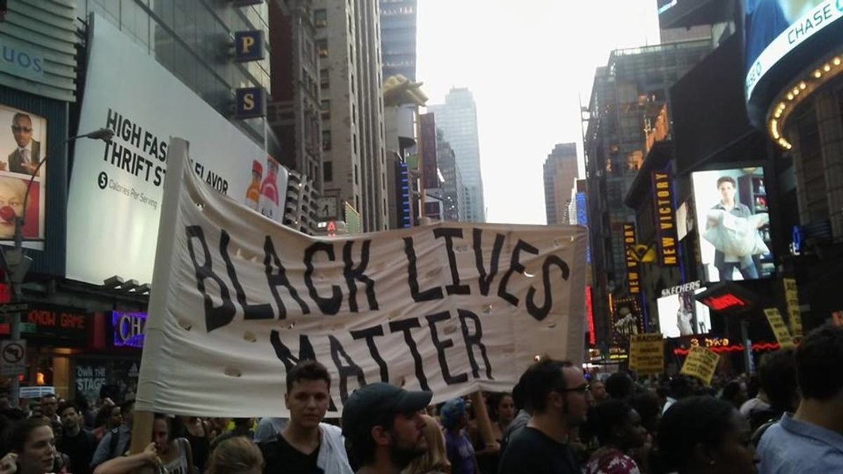 Stand Back: Guidelines for White People at a Black Lives Matter Protest