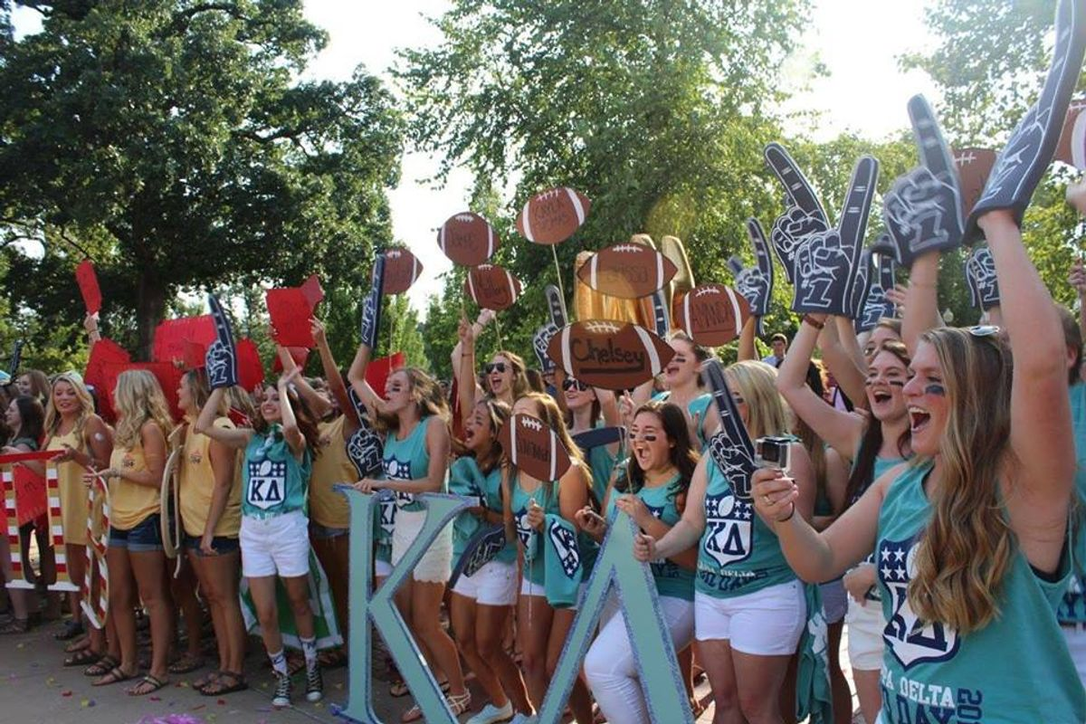 Want To Rush This Fall?