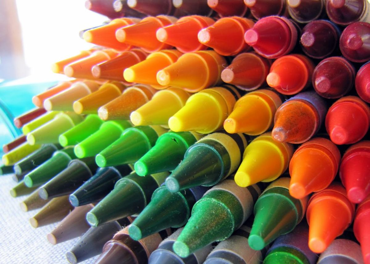 Life Is A Box Of Crayons