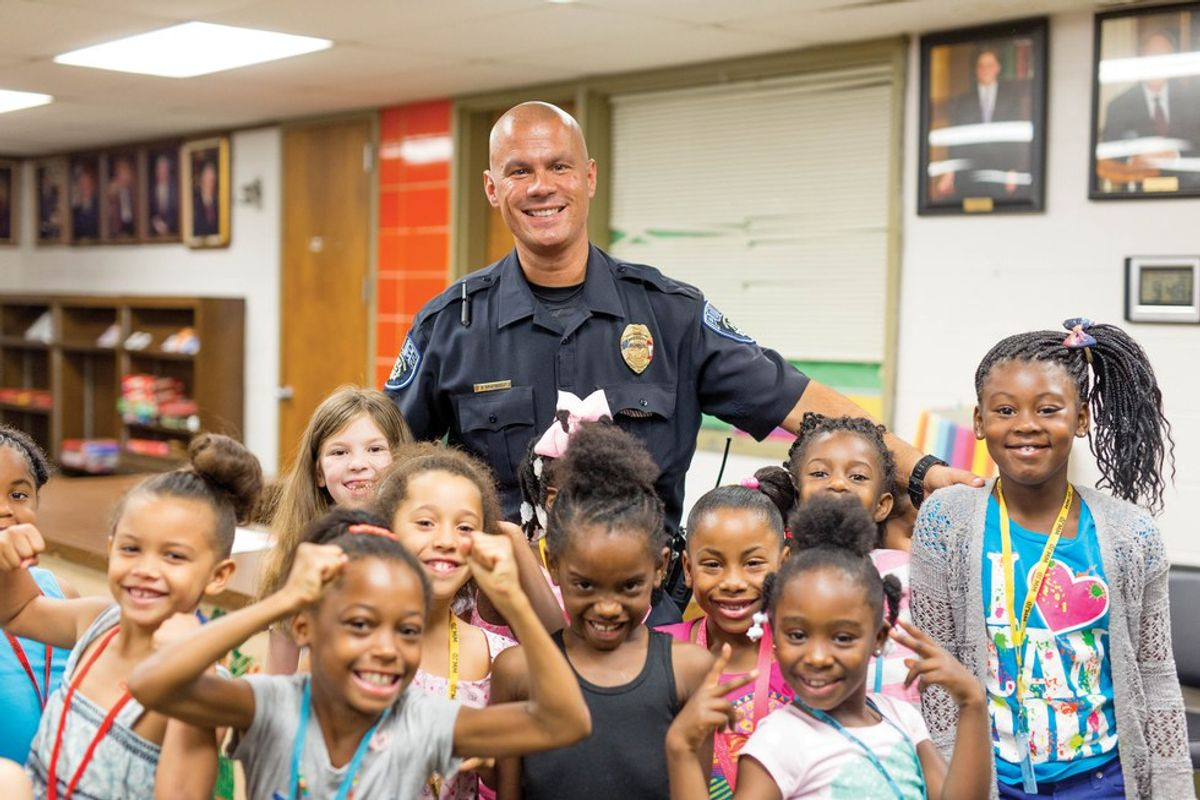 Officer Tommy Norman: Society's New Officer Friendly
