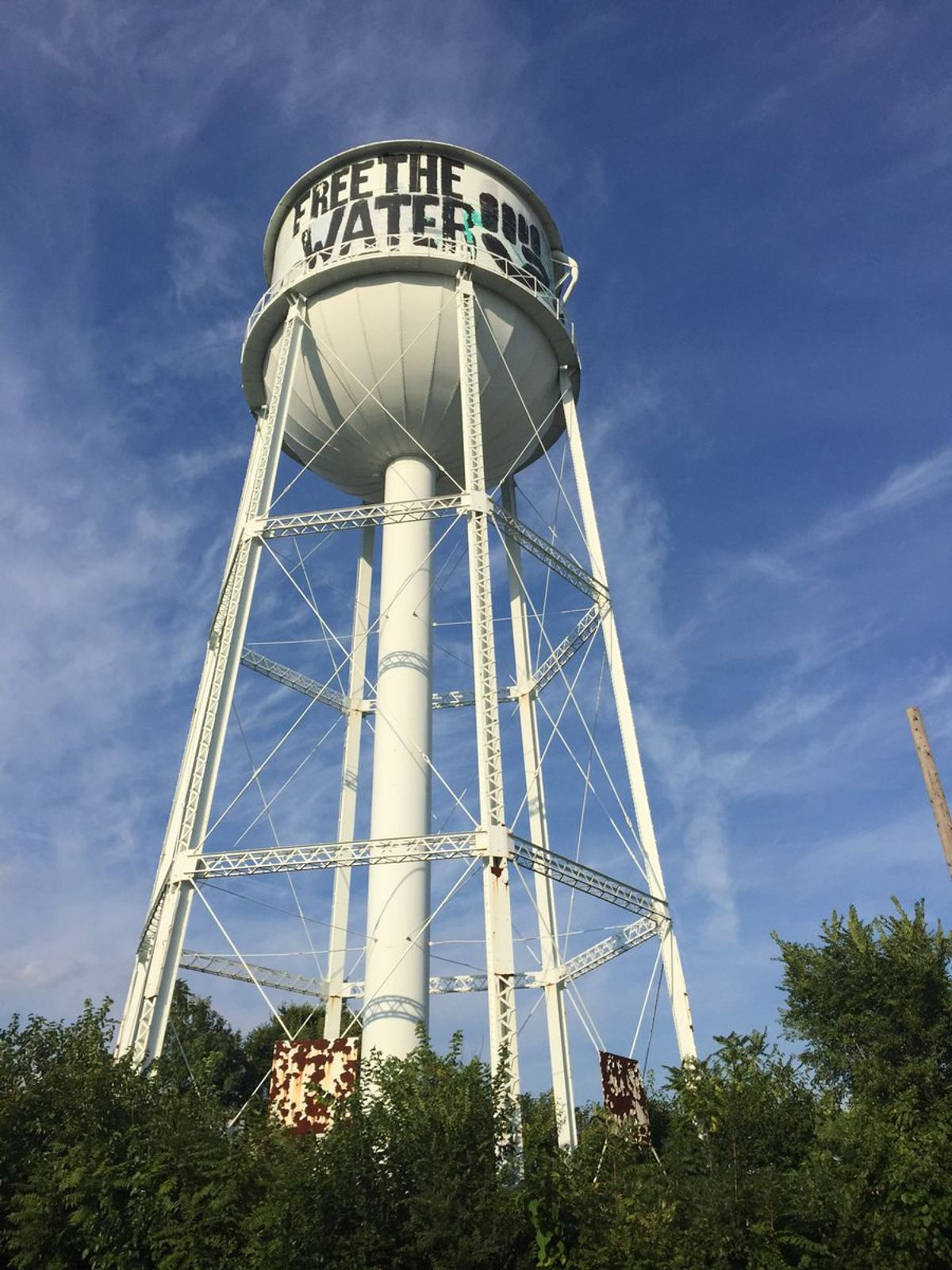 #FreeTheWater: Detroit Artists Fight Felony Charges and Prison Time