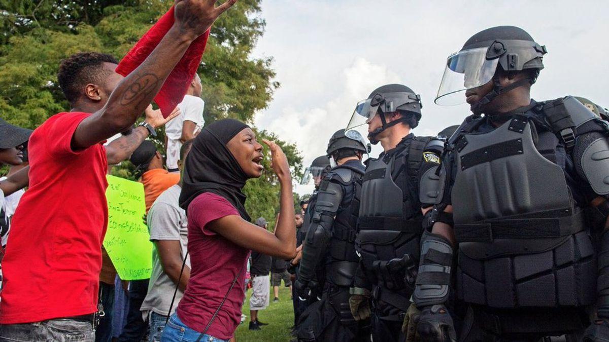 The Relationship Between Black Lives Matter And Blue Lives Matter