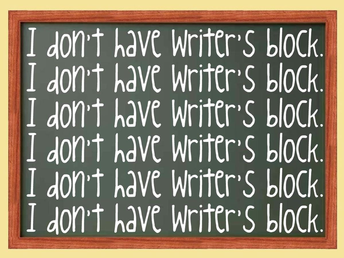 14 Stages Of Writer's Block