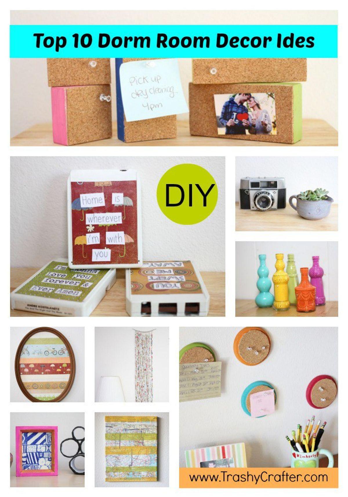 10 Diy Decor Ideas To Spruce Up Your Dorm