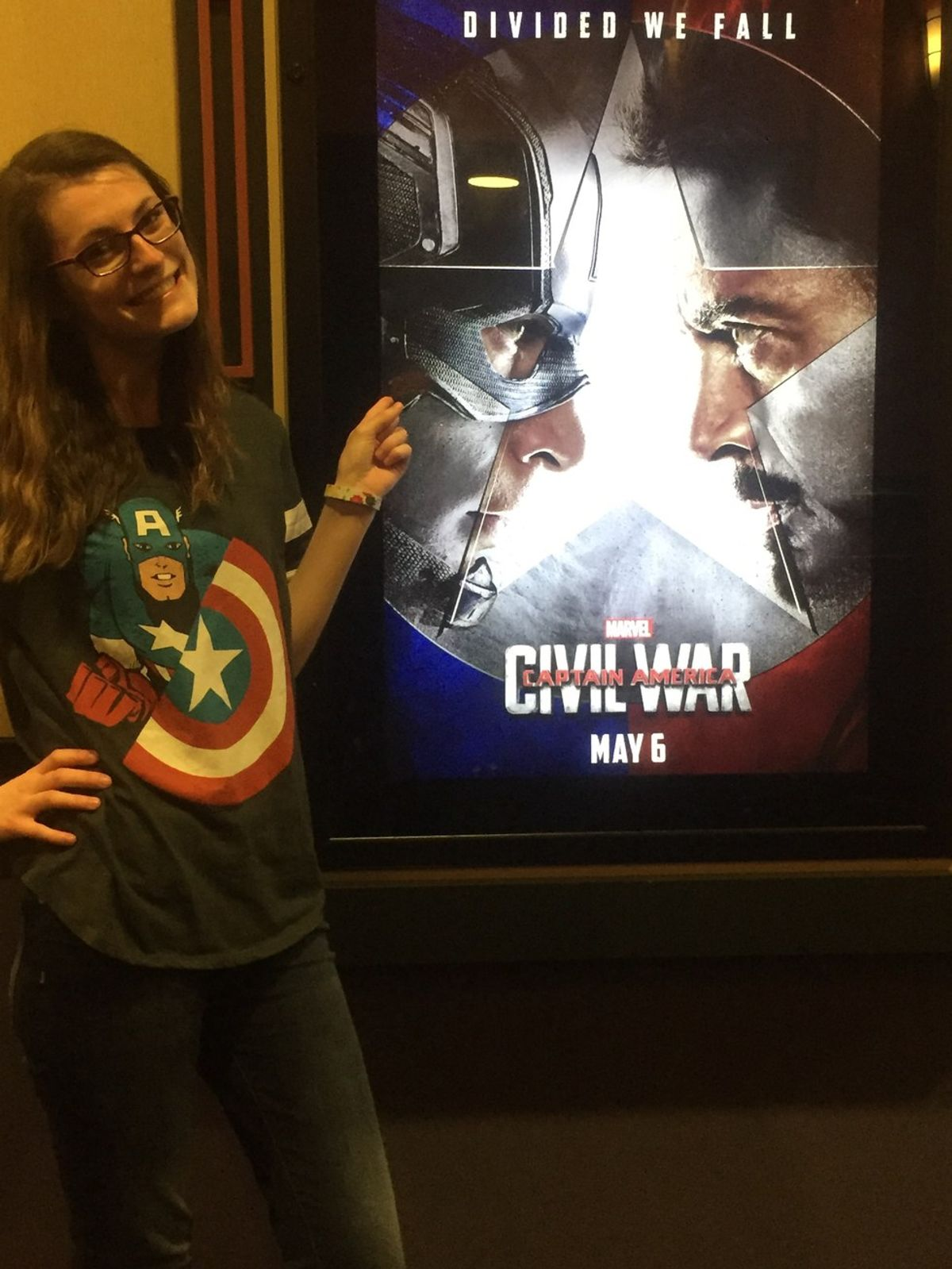 I'm A Girl Who Is Addicted To Marvel Films