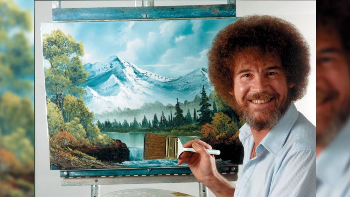 8 Life Lessons I Learned From Bob Ross While Battling Depression