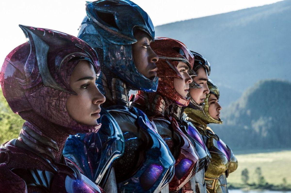 The Return Of The Power Rangers