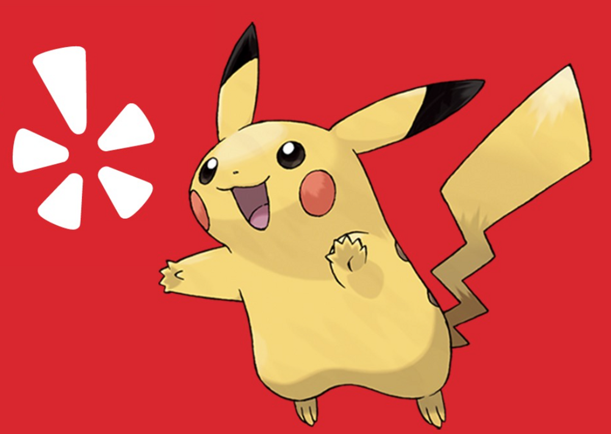 Yelp Assists Hungry Pokémon Trainers With Its New Filter
