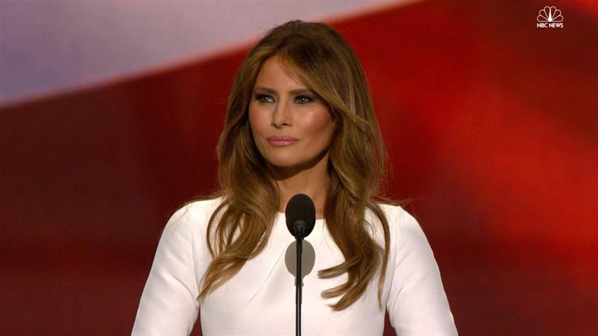 Melania Trump: Was It A Mistake Or Intentional?